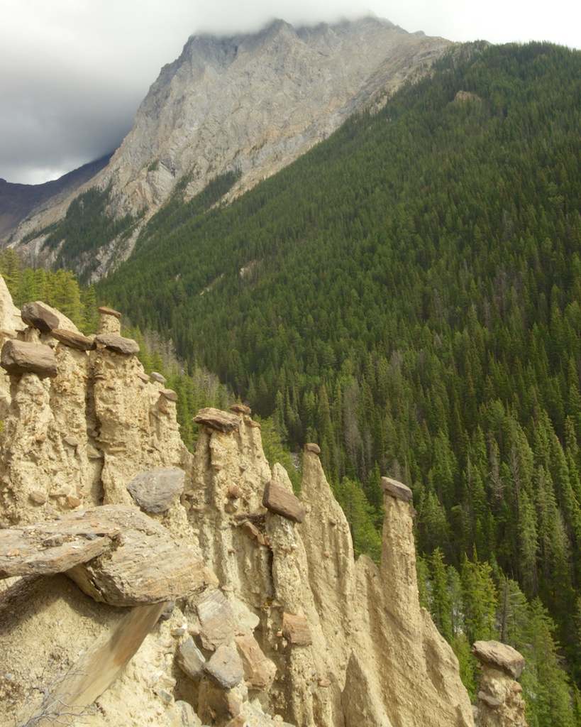 Hoodoos Hike Yoho National Park