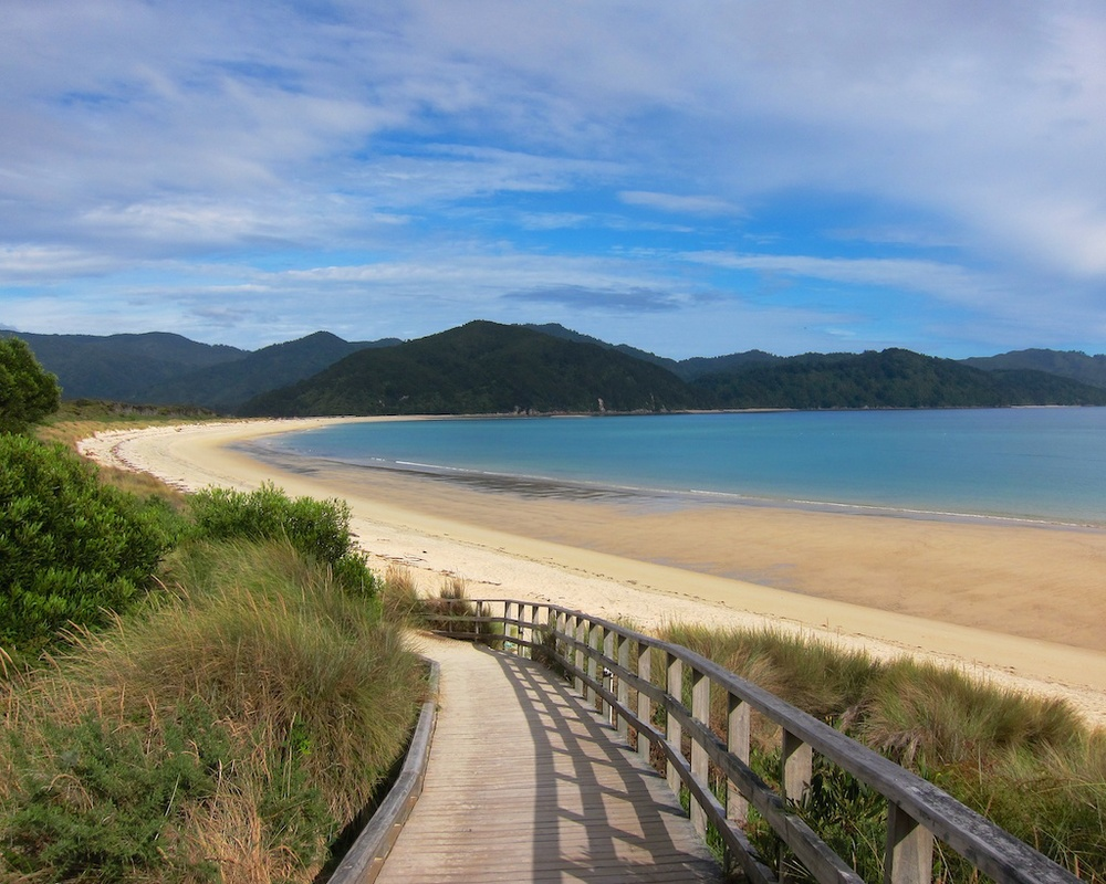 Awaroa Inlet, Abel Tasman Coast Track, New Zealand