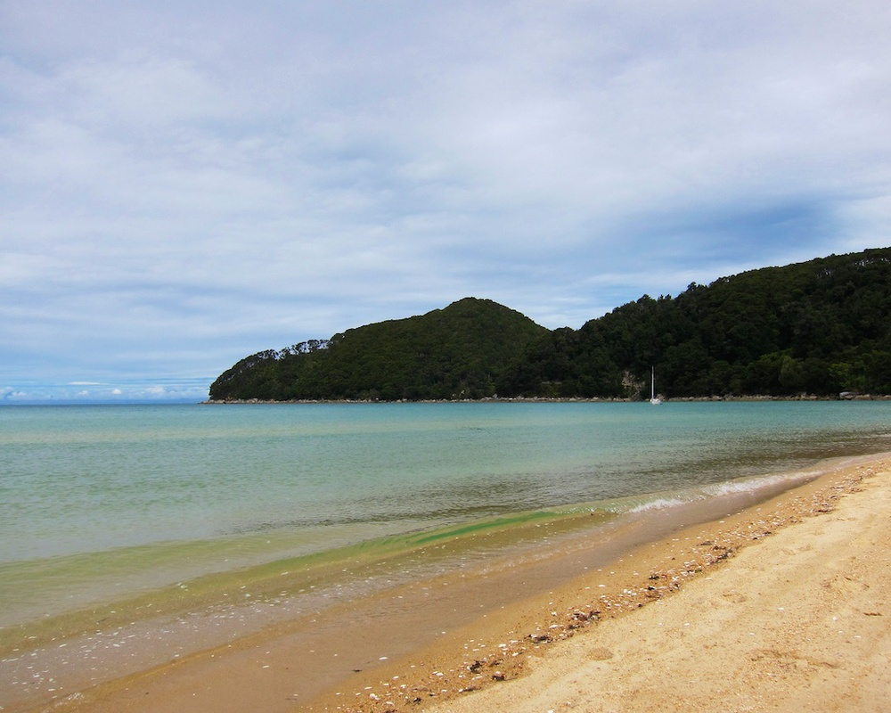Bark Bay, Abel Tasman Coast Track, New Zealand