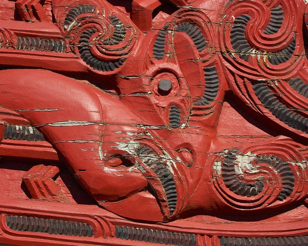 Apumoana Marae, Rotorua, New Zealand