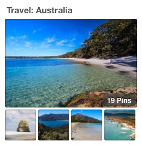 Pinterest Travel Australia