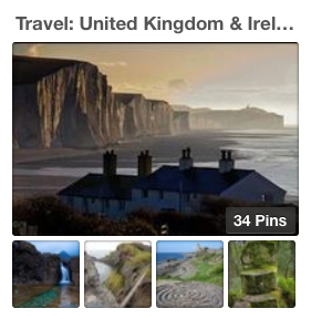 Pinterest Travel UK and Ireland