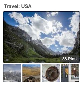 Pinterest Travel USA