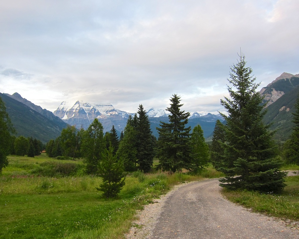 Mount Robson Shadows Campground British Columbia www.glutenfreetravelette.com