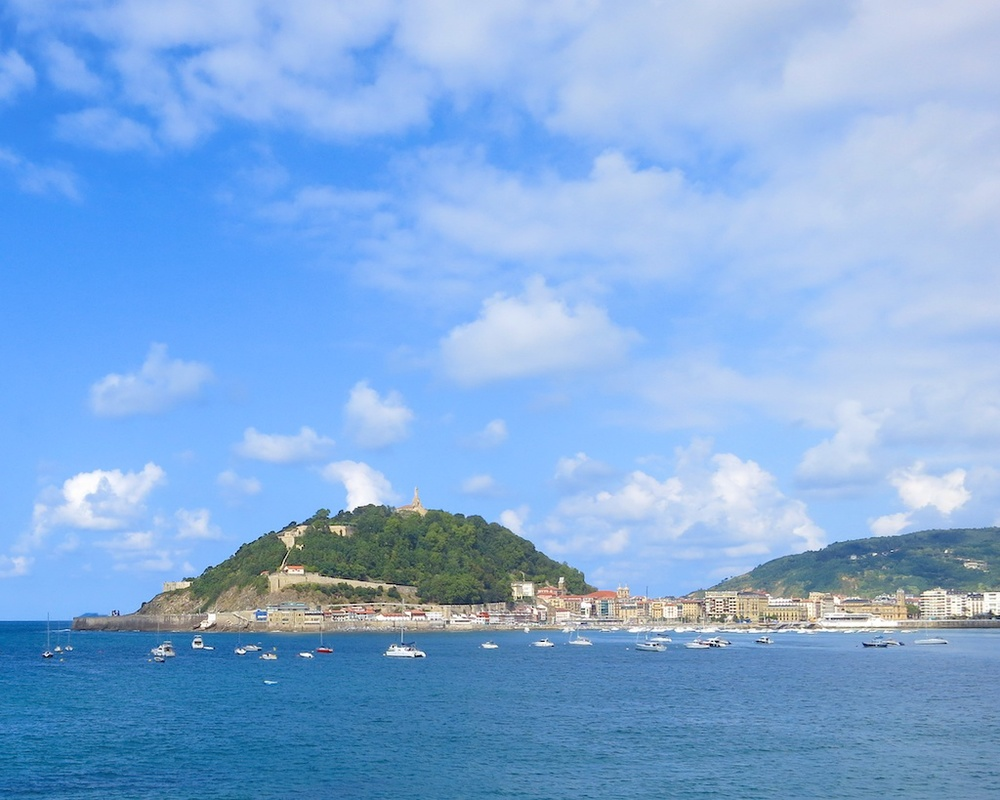 Explore Mount Urgull in San Sebastian Spain