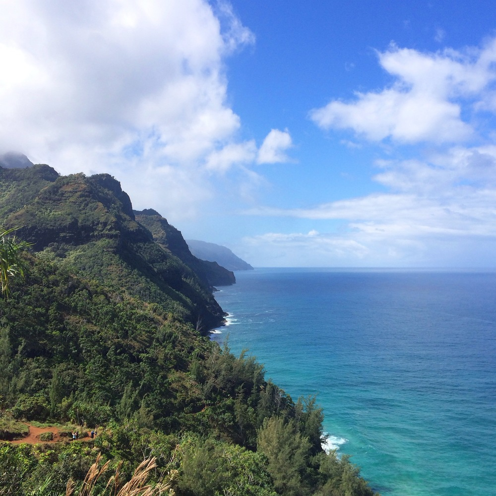 Napali Coast from the Kalalau Trail, Kauai