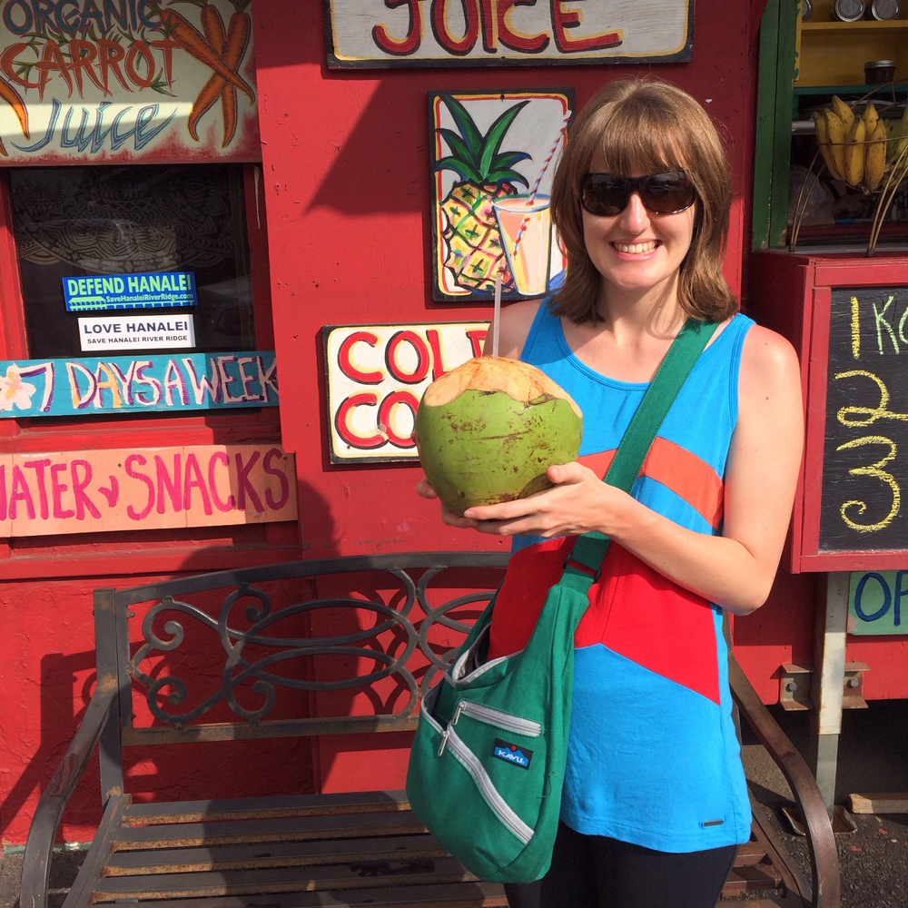 Aloha Fruit & Juice Stand in Hanalei, Kauai