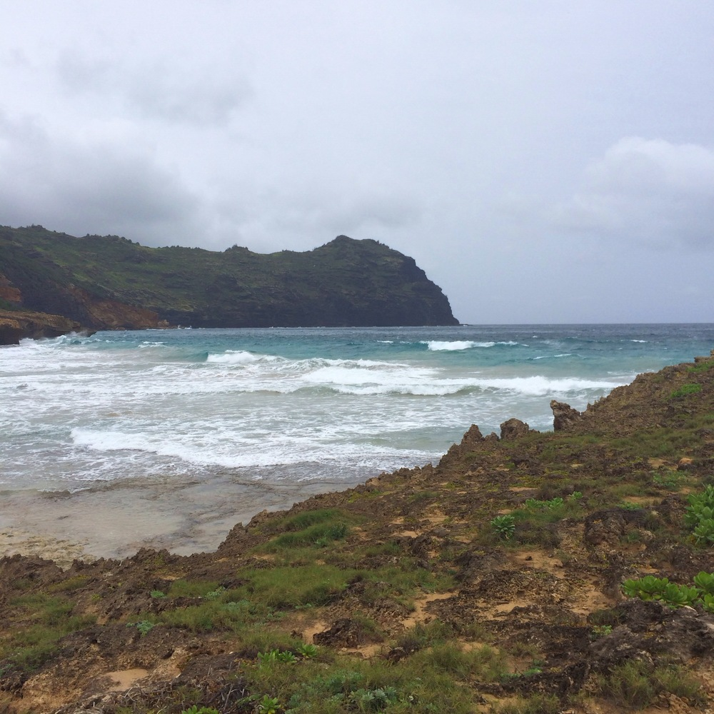 End of the Trail on A Coastal Hike, Kauai