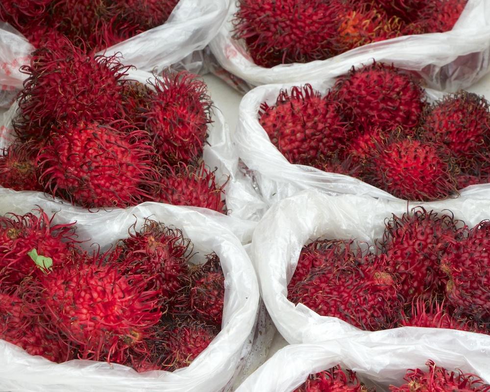 Rambutan at the Waipa Farmers Market