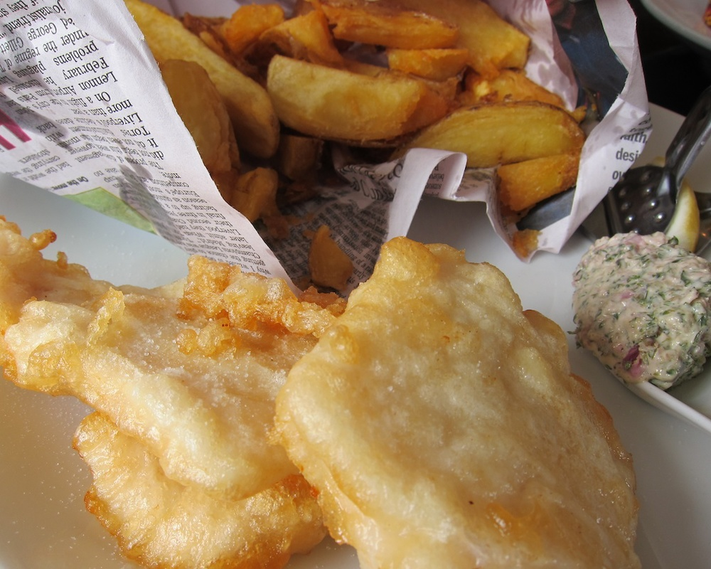 Gluten Free Fish & Chips in New Zealand