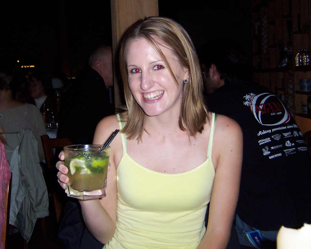 Drinking a Mojito in Auckland