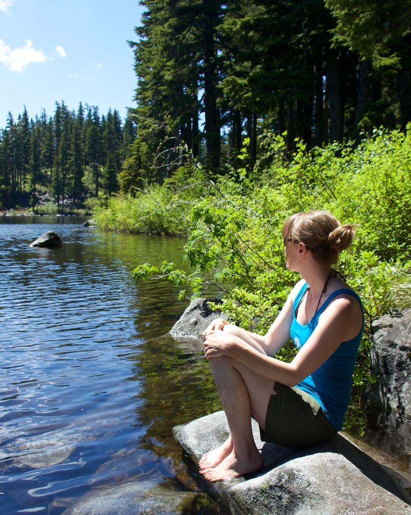 A Peaceful Moment at Mason Lake