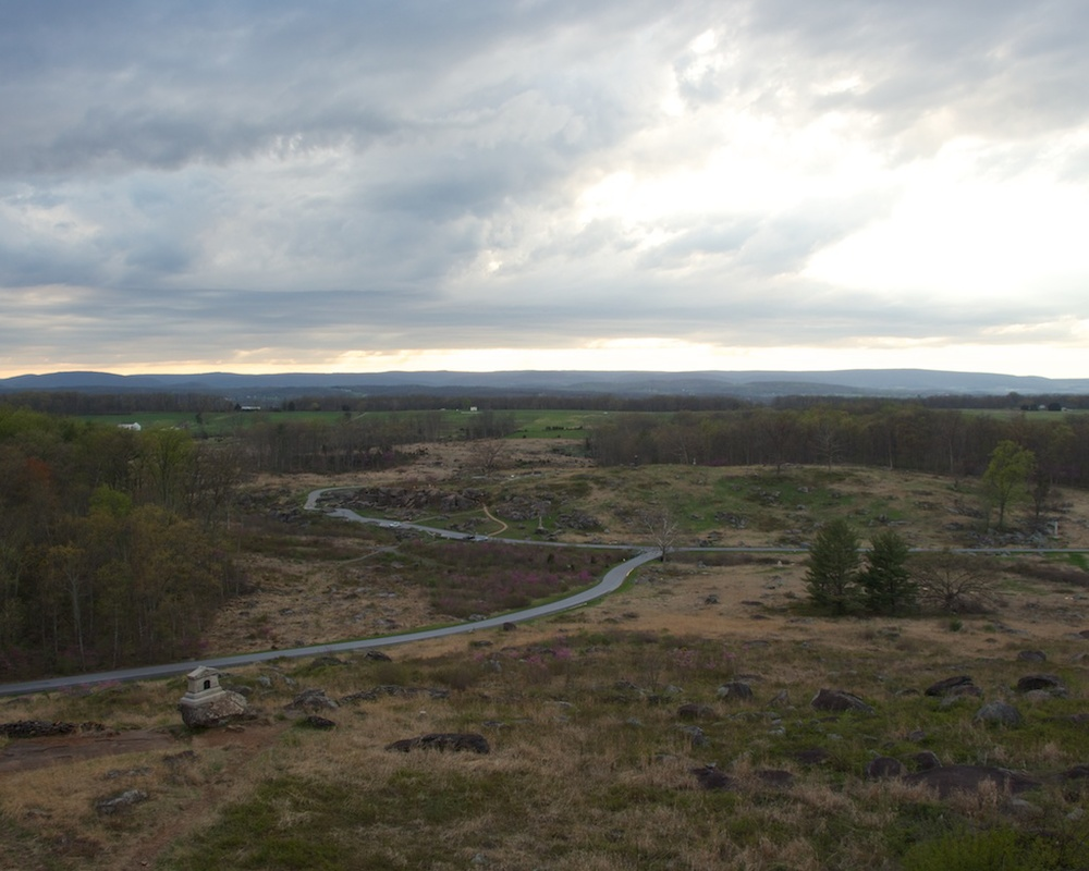 Gettysburg, on the eve of battle — a place where things could have ...