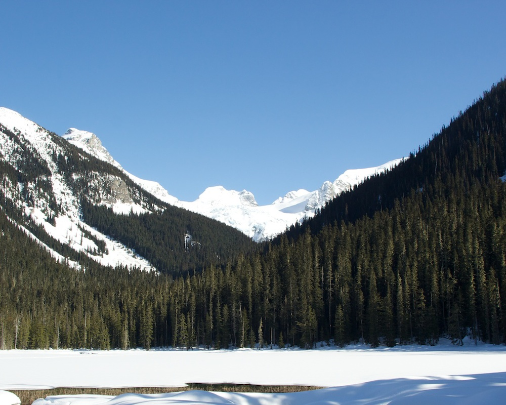 Joffre Lakes Provincial Park - Lower Lake