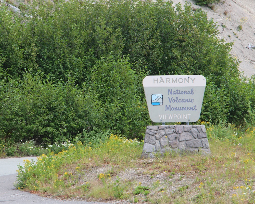 Harmony Trailhead at Mount St. Helens National Volcanic Monument
