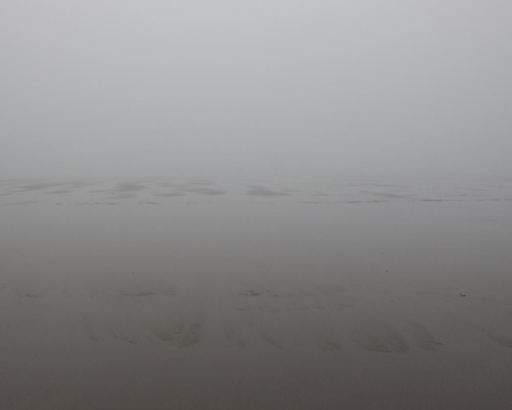 A Foggy Walk in Long Beach Washington