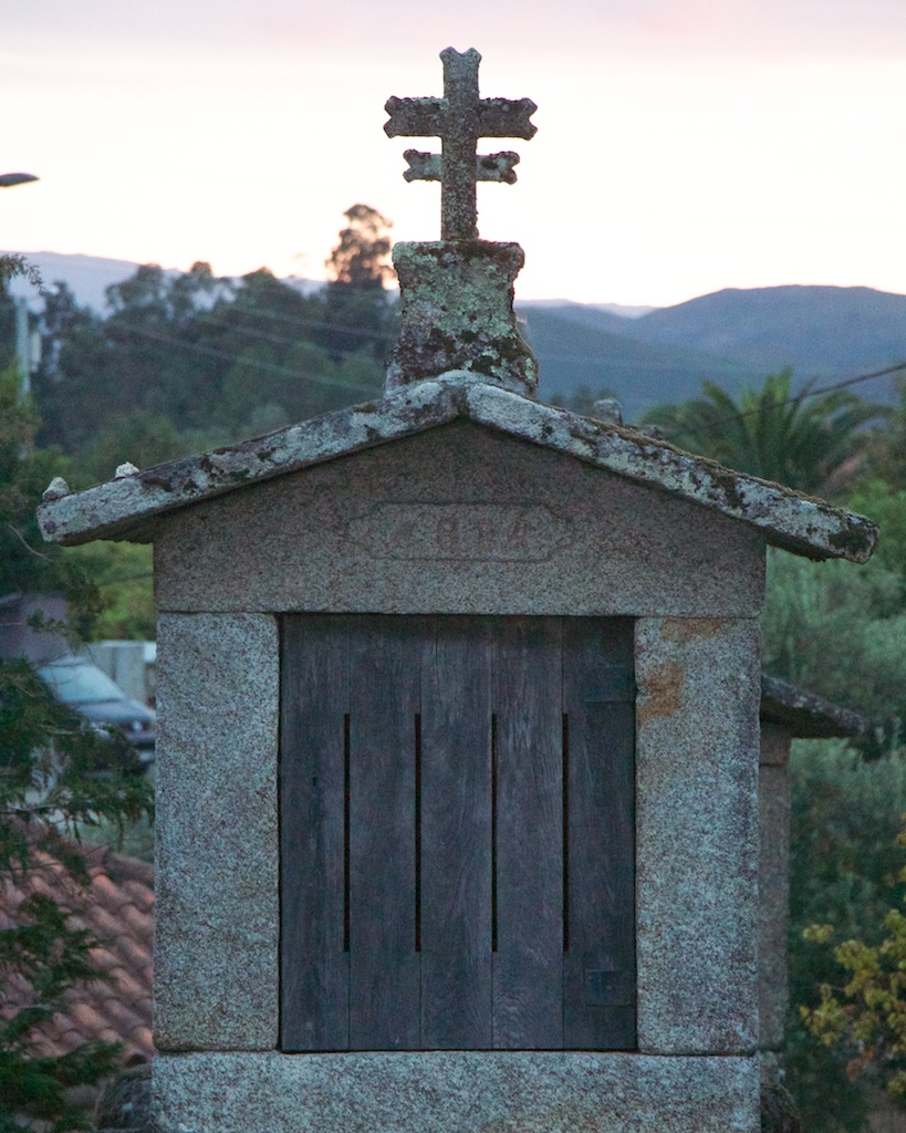 Espigueiro in Soajo, Portugal