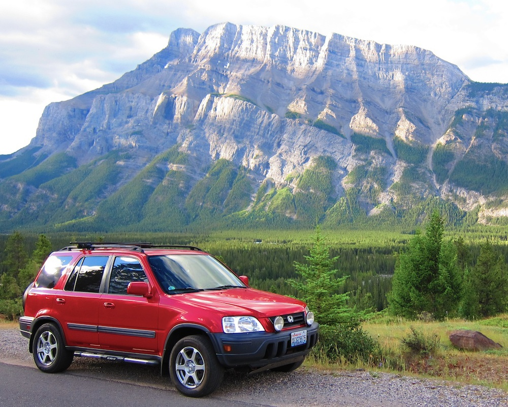 The CRV In Banff, British Columbia, Canada