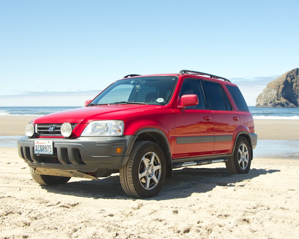 The CRV On Cape Kiwanda