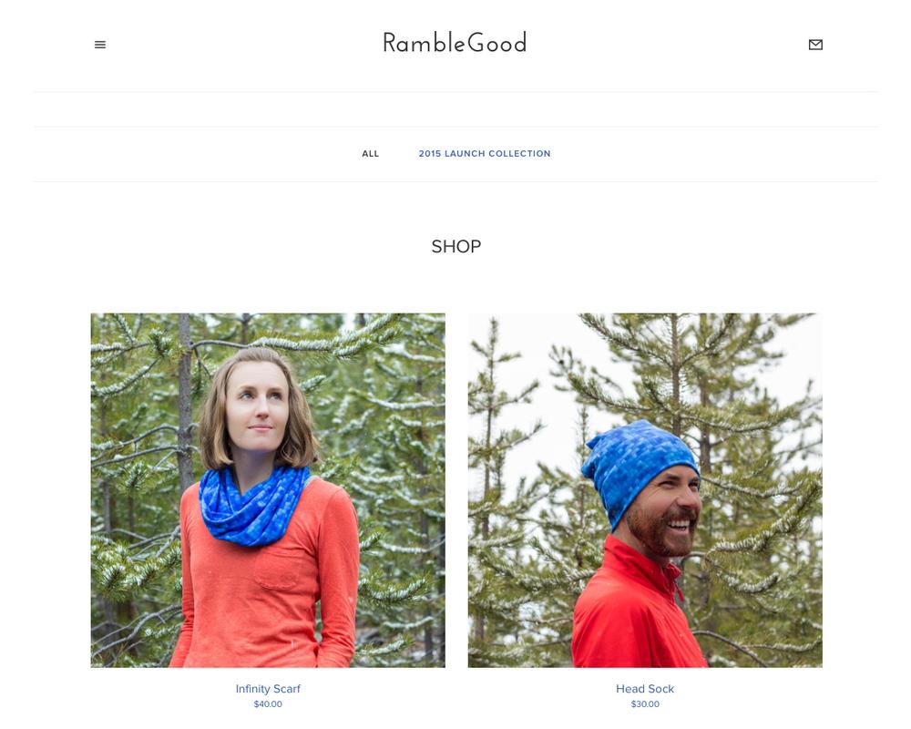 The RambleGood Shop Is Live! www.ramblegood.com