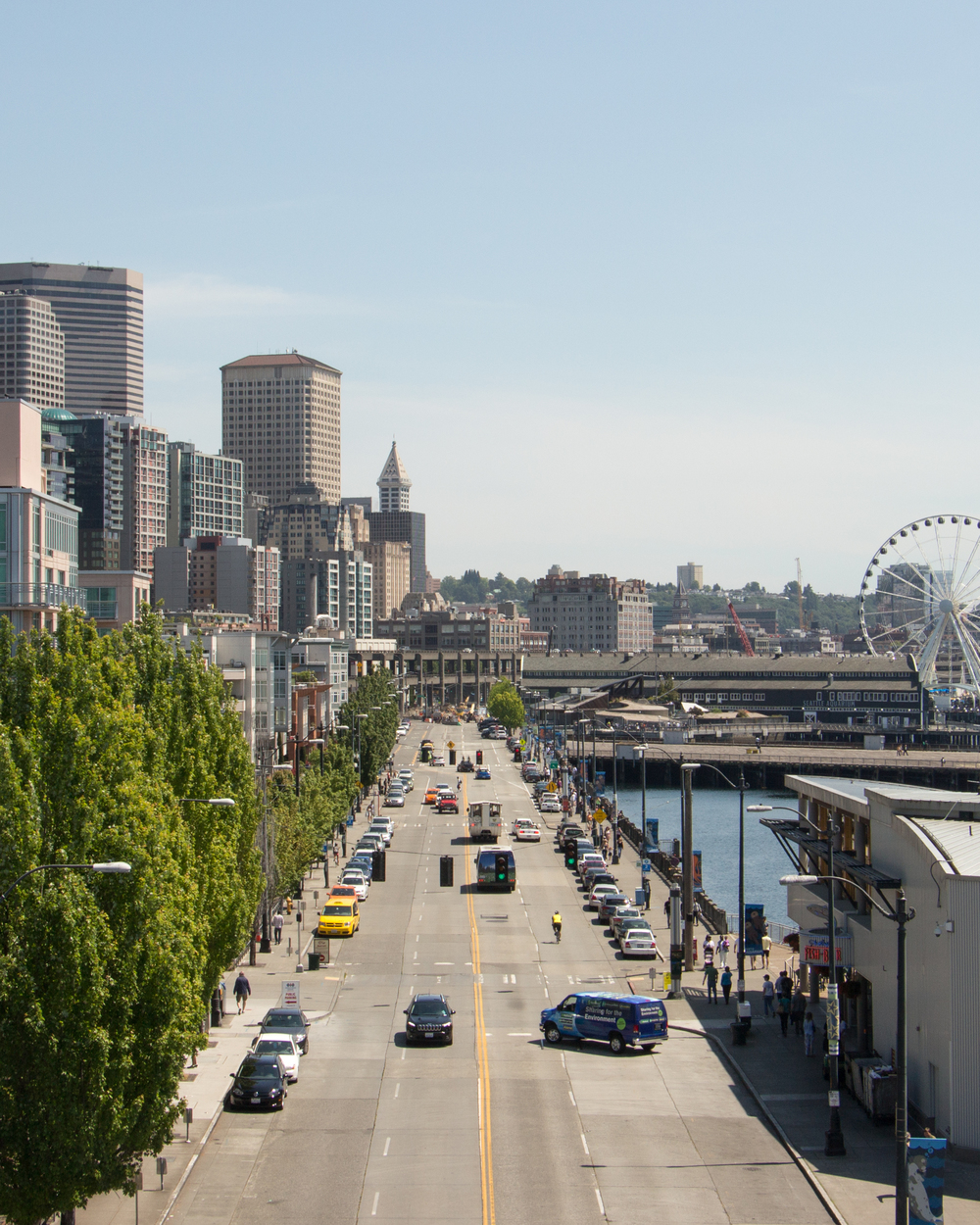A Day on Seattle's Waterfront