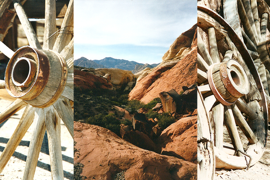 Calico, California and Red Rocks, Nevada
