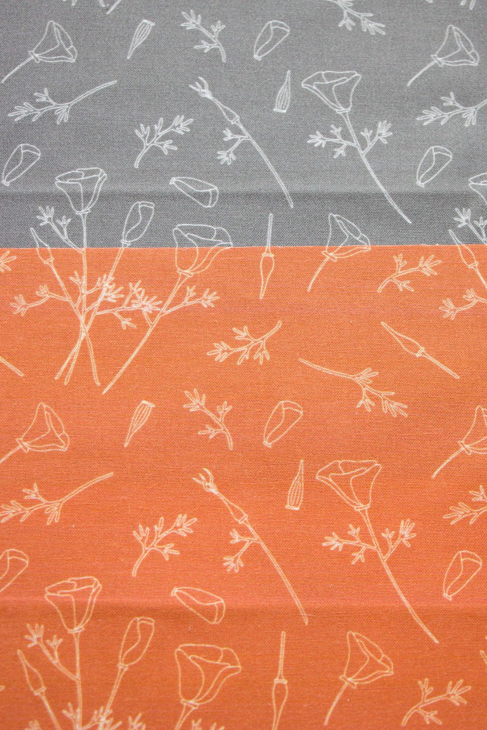 California Poppy Fabric