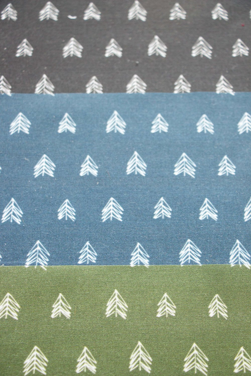 Pacific Northwest Evergreen Fabric