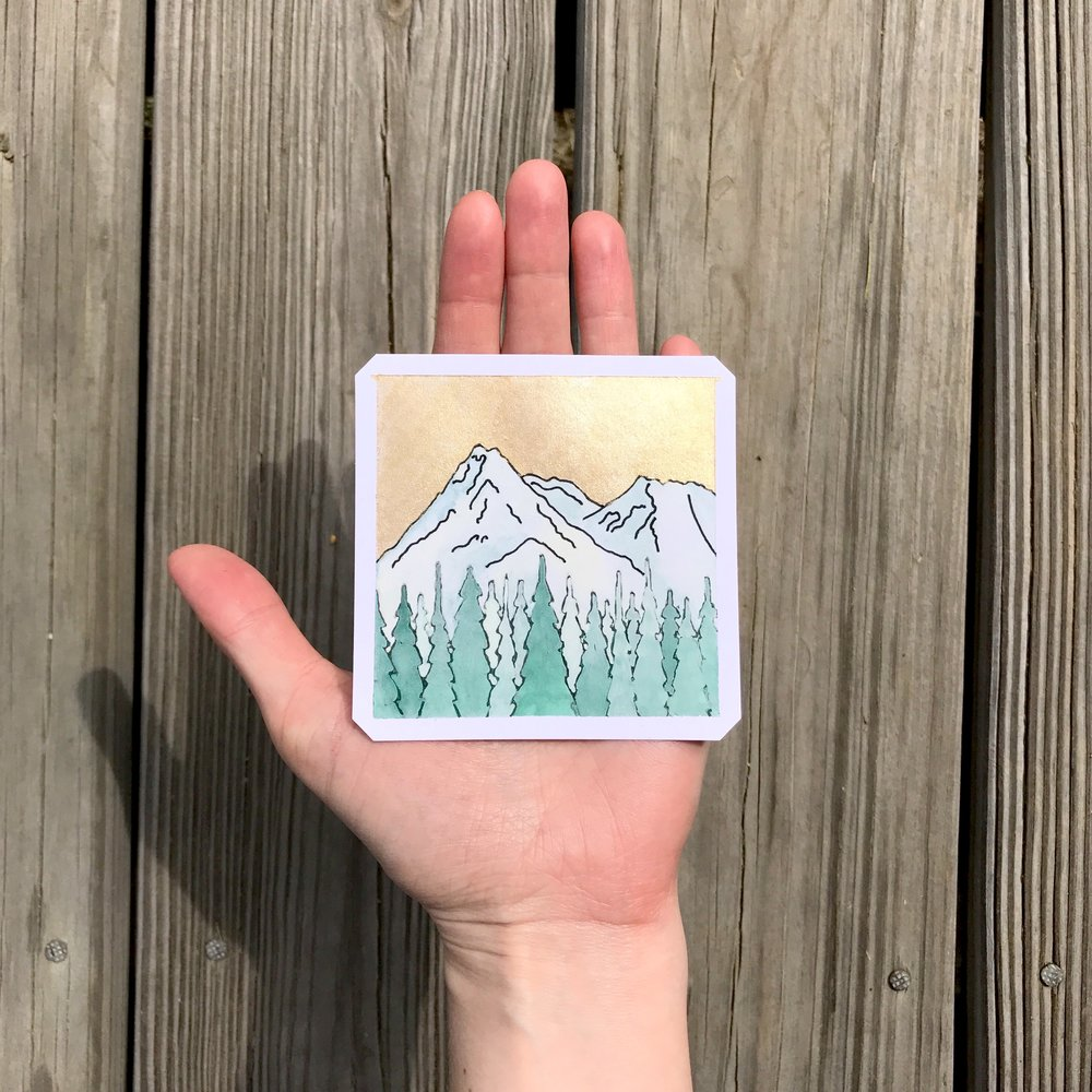 Mount Shasta (Sold)