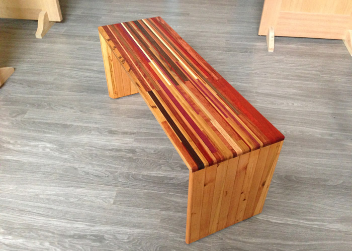 """Rare and Reclaimed"" Bench"