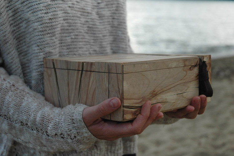 Spalted Driftwood Box