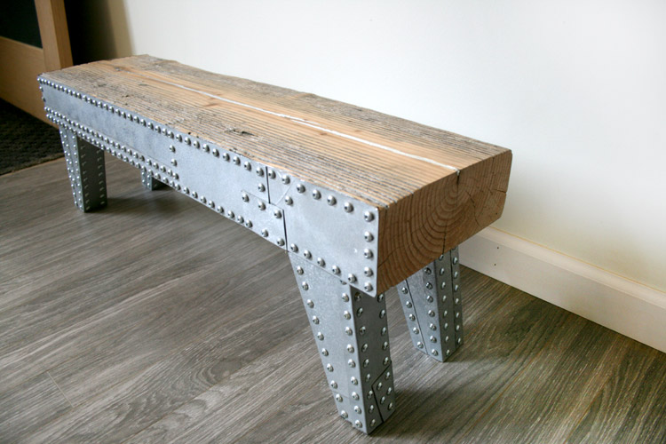 Studded Bench