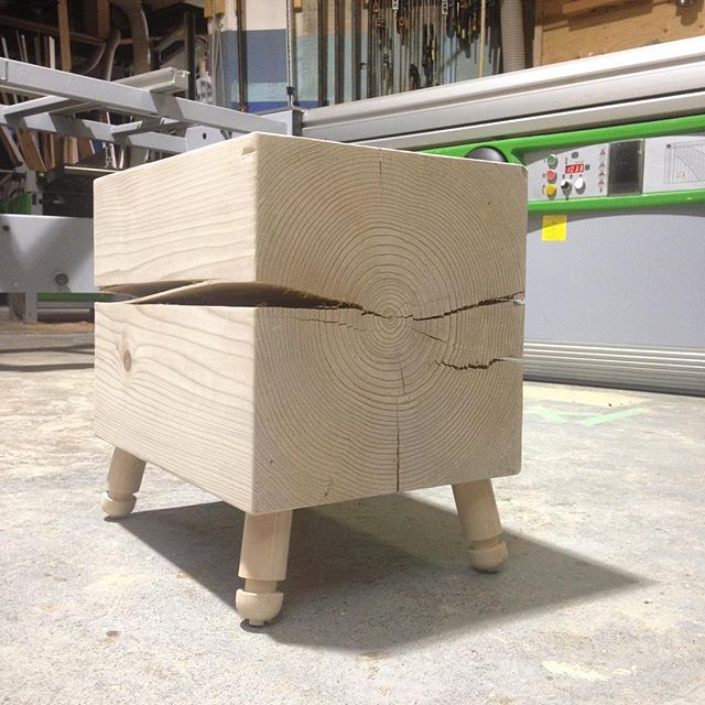 #somethingnew @yewwoodshop #wood #design #woodworking #prototype #eastvan #local #character