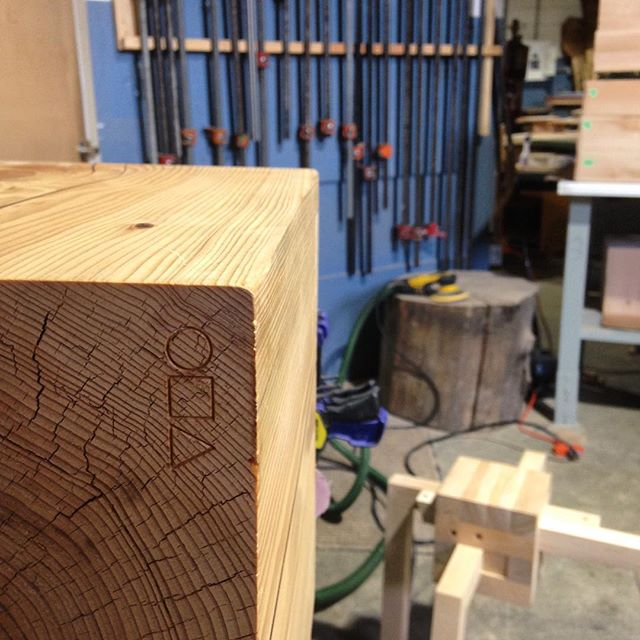 #block #party @yewwoodshop #solid #wood #design #local #cube #eastvan