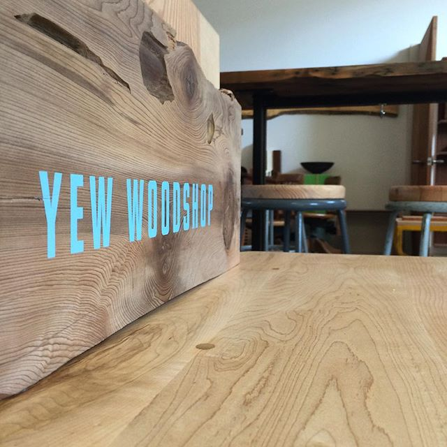 #wood @yewwoodshop #happyfriday #woodworkers #designers #makers of all types and #everyone else. #cheers