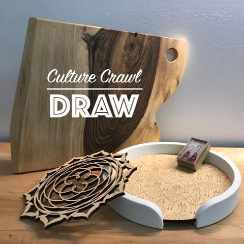 For those of you visiting us during the #EastSideCultureCrawl this coming weekend, don't forget to enter your name in the draw for your chance to win some goods!  #doorprize #giveaway #woodgoods #custommade  #ESCC2017 #artanddesign