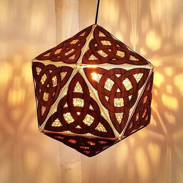 @ari.lazer is lighting up at this years Vancouver @culturecrawl with his Custom Celtic Triquetra Lantern in Walnut and Birch! ⠀⠀⠀⠀⠀⠀⠀⠀⠀ Follow the light to 1295 Frances Street from November 15-18... we promise you'll be be inspired. 💡