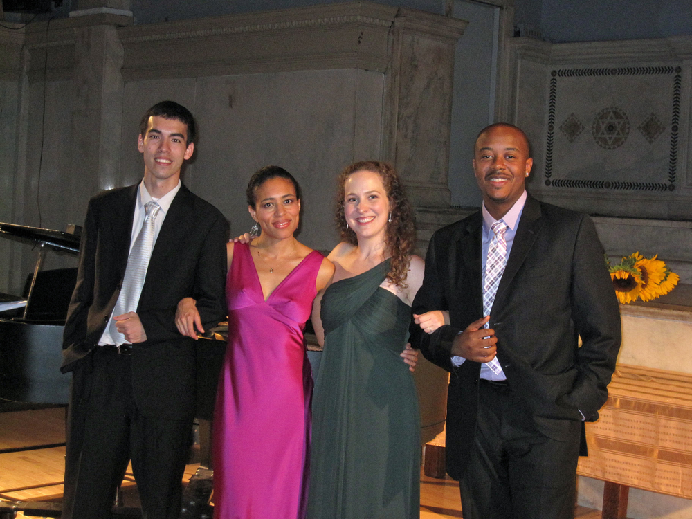 """Among Friends"" recital at Judson Memorial Church w/Julius Abrahams, Candice Hoyes, & Jorell Williams"