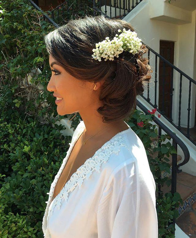 @hummingbirdnestranch #weddingday #bridal #styledbydreanicole #bridalstylist #bridalhair #wedding #simivalley @unveiledmakeup