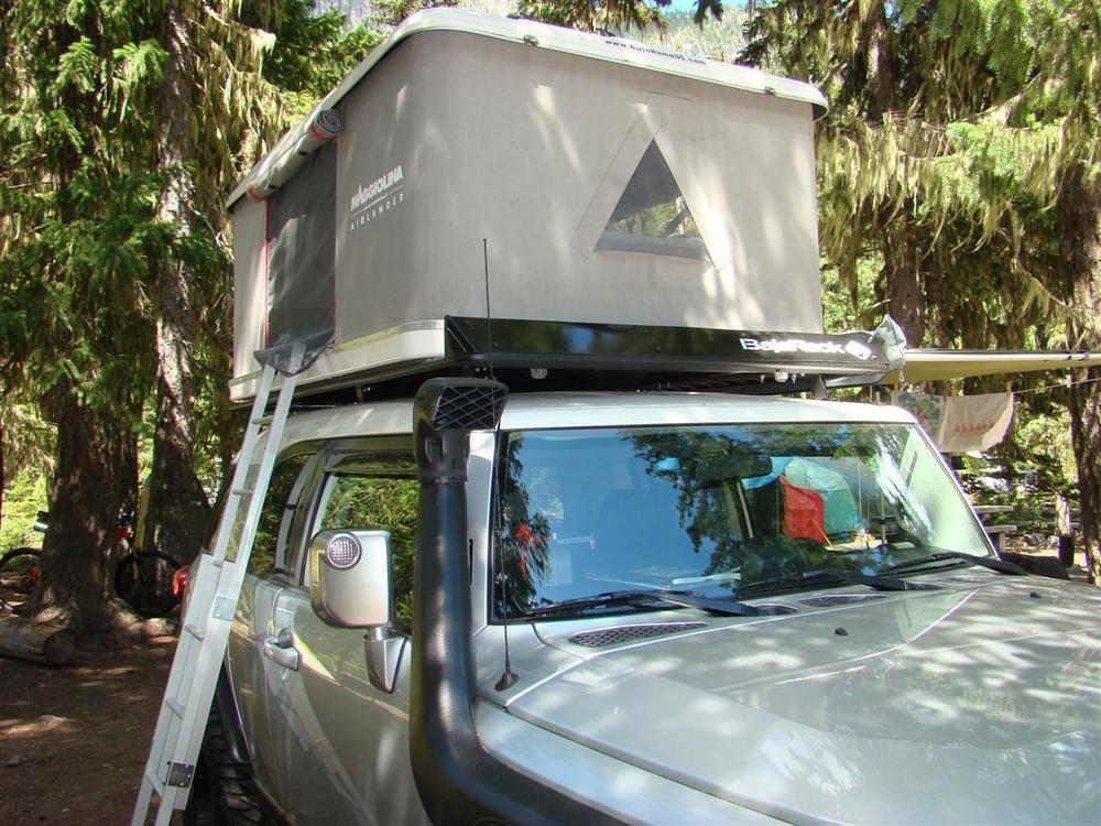 Maggiolina  roof top tents range from $2800-3900 and deliver superior craftsmanship.
