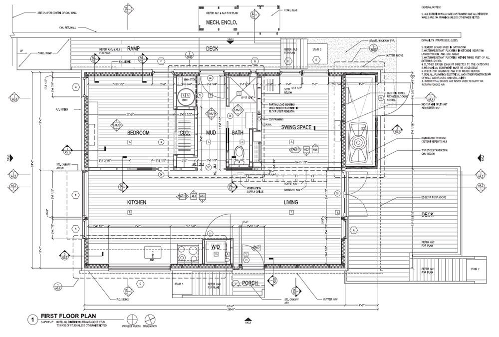 the New Norris Home floor plan.