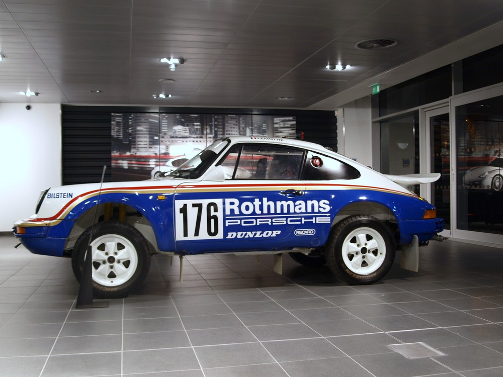 Porsche Museum's Paris-Dakar winning Type 953