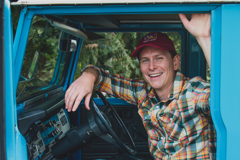 November 2017  |  Chad Lloyd   When Chad and his wife took ownership of the '78 Toyota FJ40 that had been in the family for 20 years, they hadn't any idea what adventures were in store for their urban Seattle family. Within just a few months, they and their 40 had traversed the coastal roads from San Diego to Seattle, climbed gnarly trails to pristine alpine lakes, and camped along remote rivers and meadows, their eyes opened to the beauty of wandering up a forest road. Fast forward 5 years and they're still at it, now driven to draw others into the friendship and community that a trip to the mountains brings. You can follow along and get in touch through  Instagram .