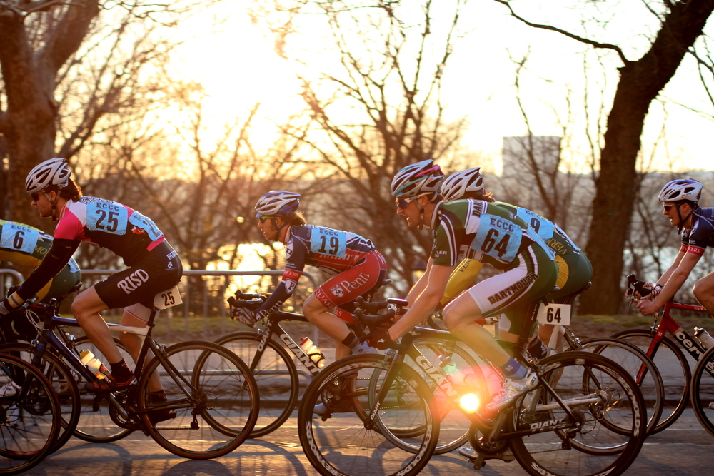 Bell Lap Athlete B.G. at the ECCC Grant's Tomb Crit in New York.