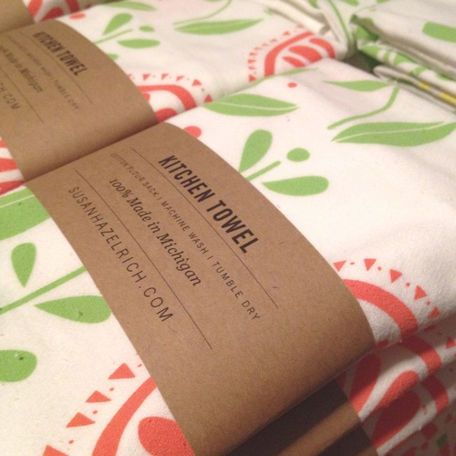 Hazelmade kitchen towels are gorgeous!