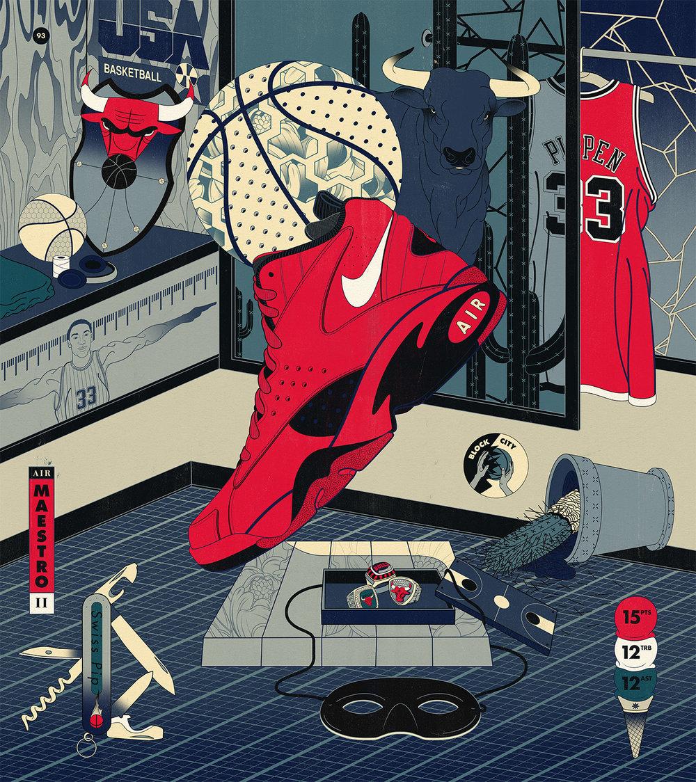Nike Basketball — Art Of A Champion