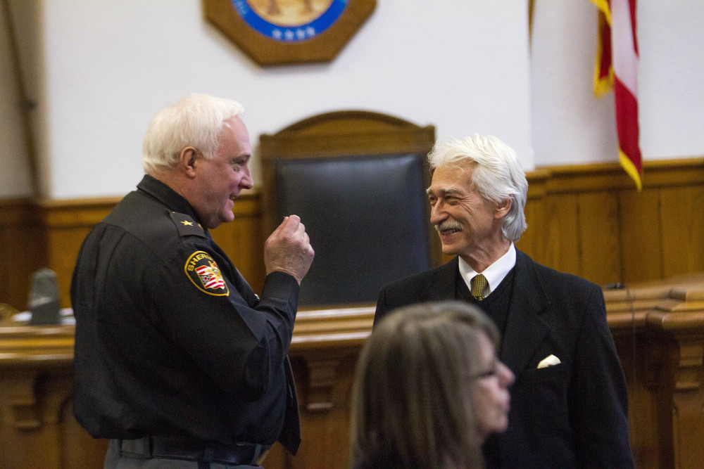 Athens Sheriff in Court