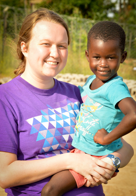 "Kayla & the little one that named her ""Mama Kay"""