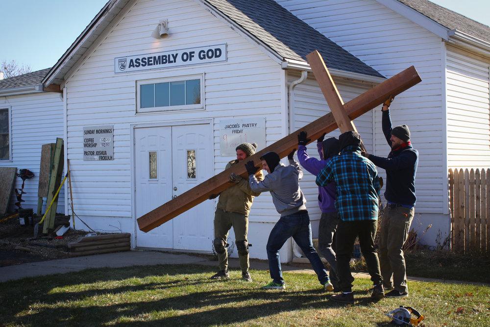 Building & Installing Crosses