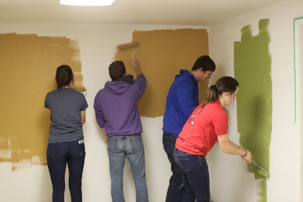 Painting the Church